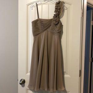 Allure bridal bridesmaids size 8 color mocha